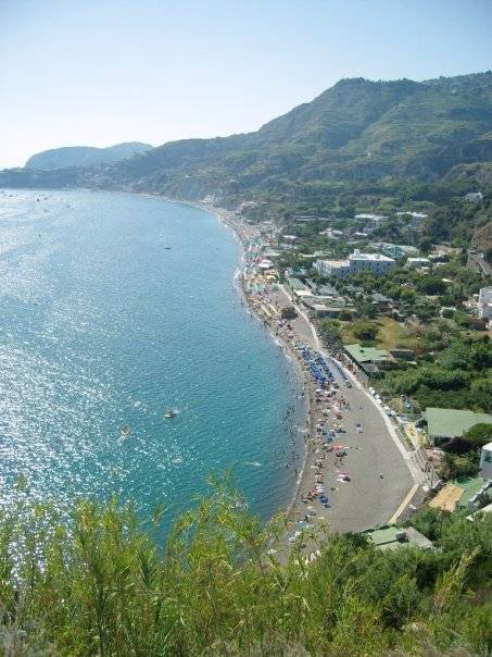 Maronti beach Ischia