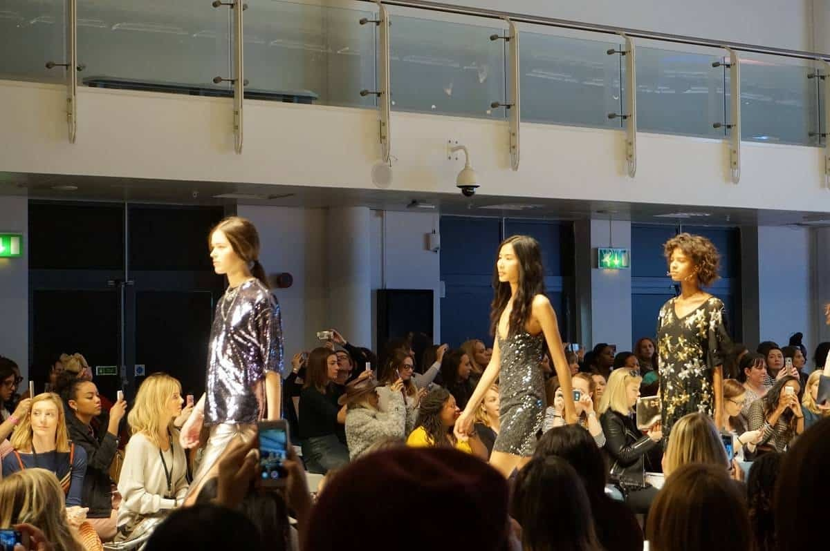 Models at Stylist Live catwalk show