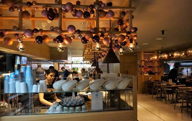 The open kitchen at Chi Kitchen