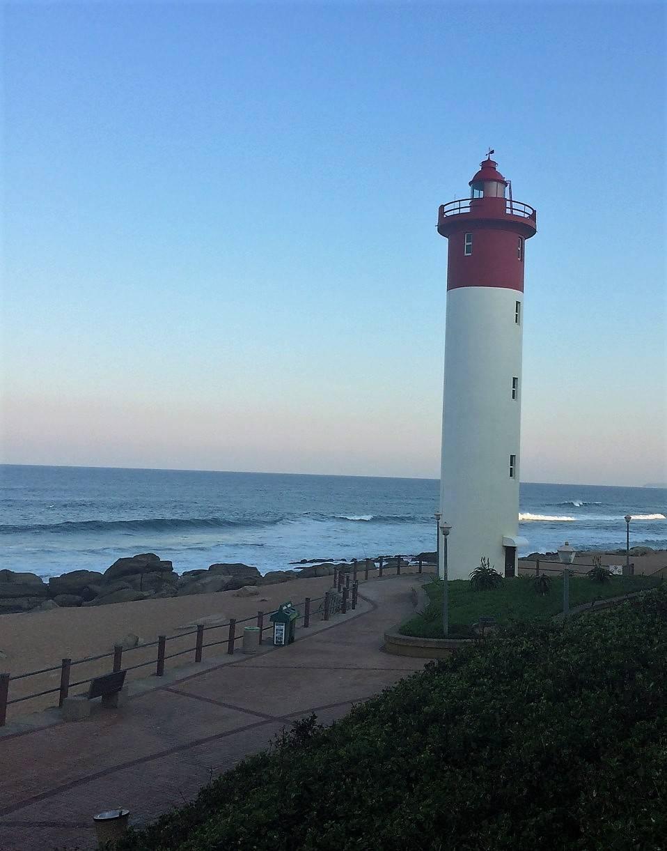 Umhlanga Rocks Lighthouse in Durban Sotuh Africa