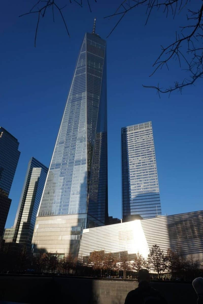 The new World Trade Centre in New York