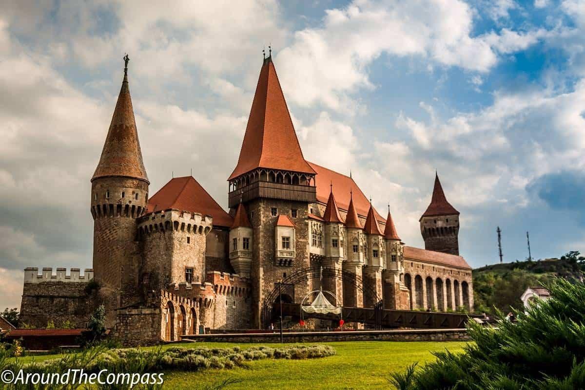 Corvin Castle in Romania