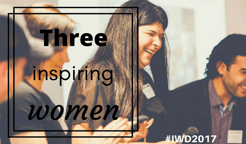 Meet three inspiring women
