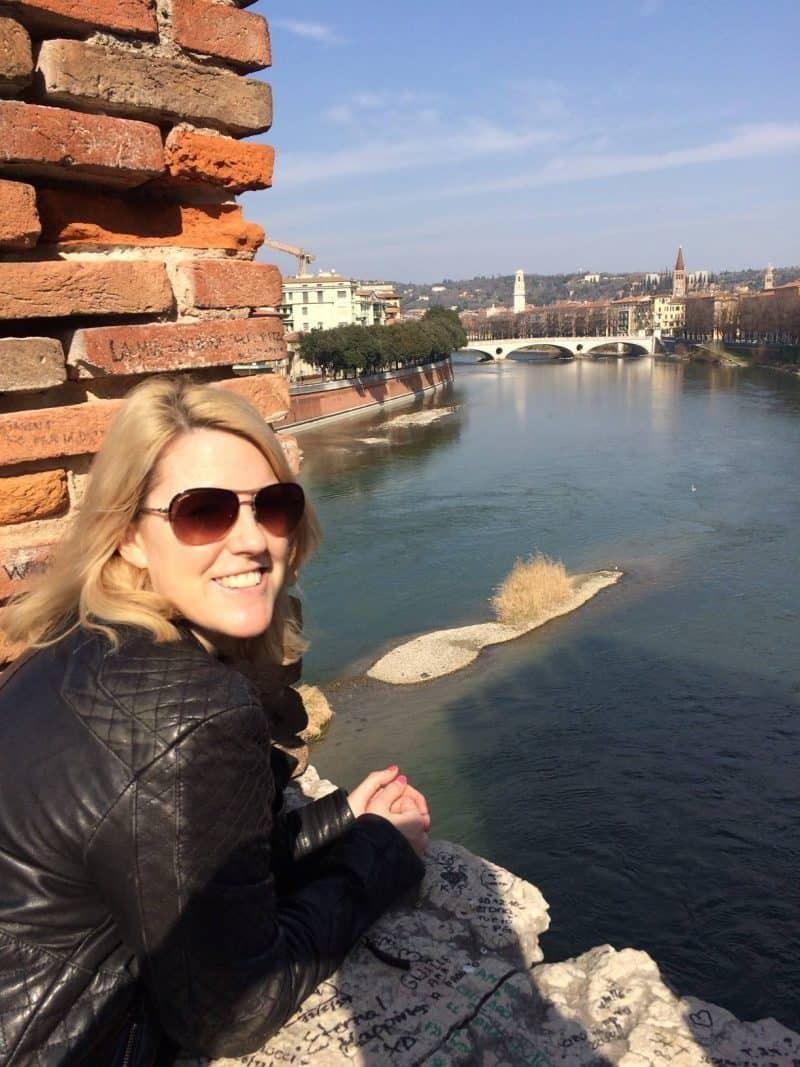 The view from Castelvecchio bridge