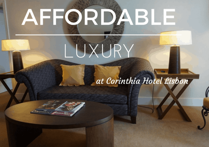 A luxury stay at Corinthia Hotel Lisbon