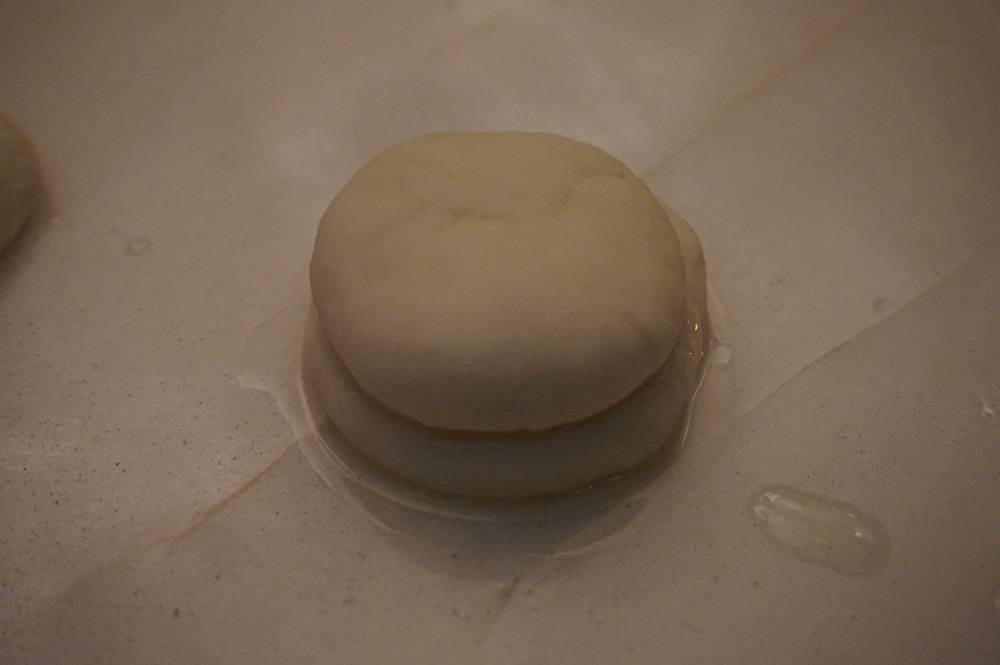 Bao before they go in to steam