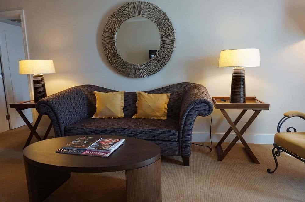Lounge area in Executive Suite