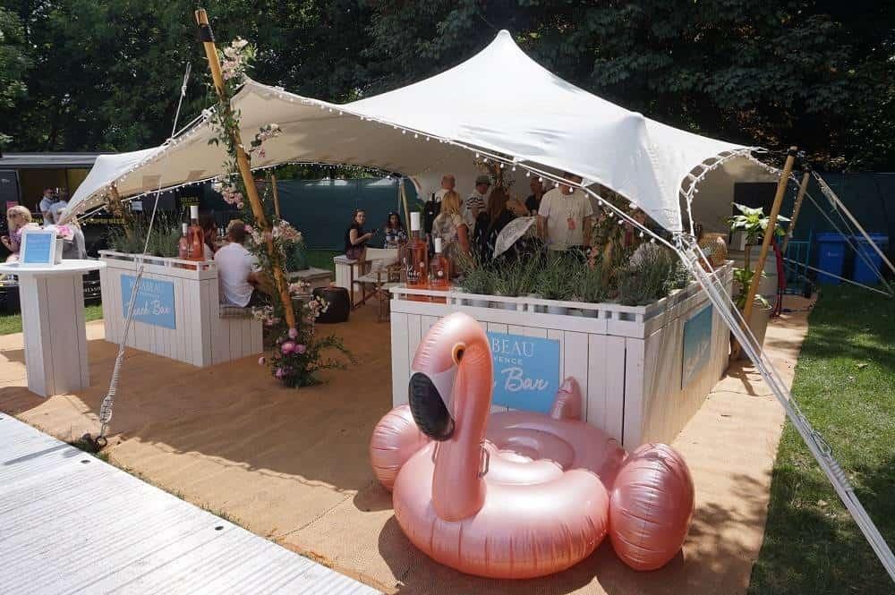Beach bar at Taste of London