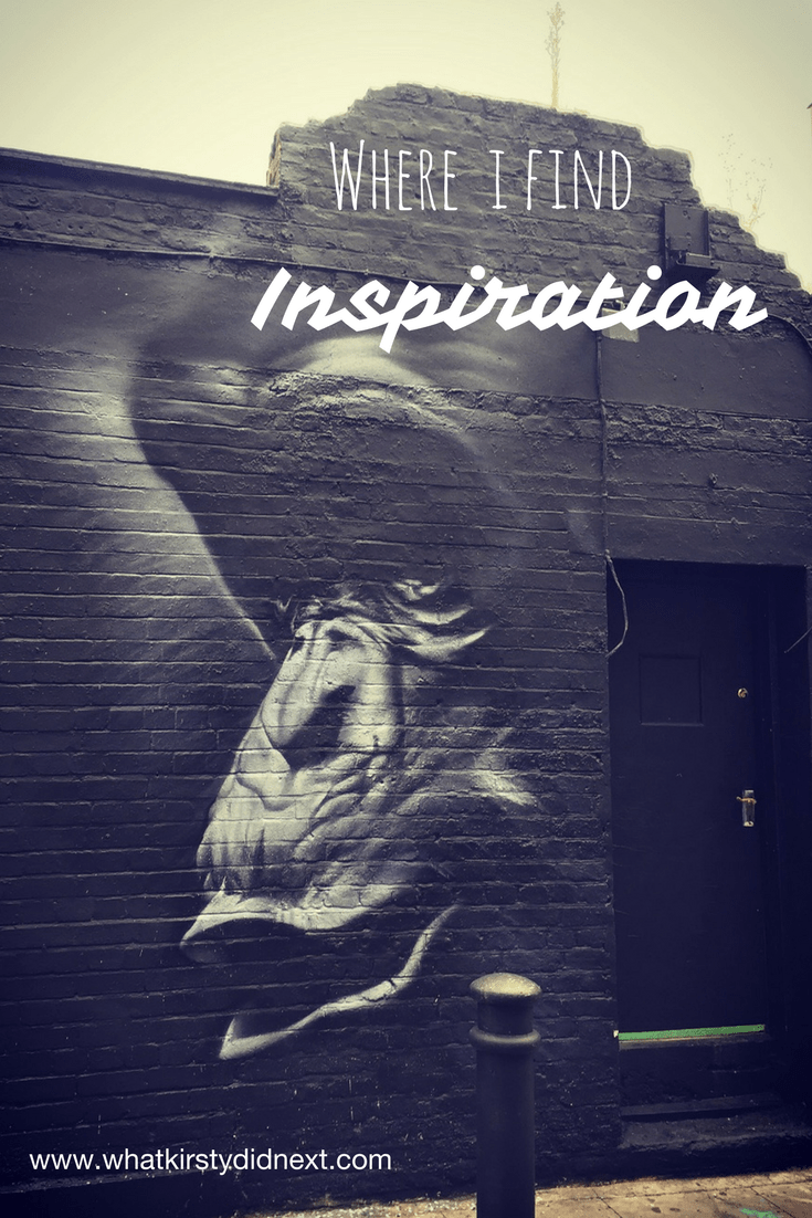 Places where I find inspiration