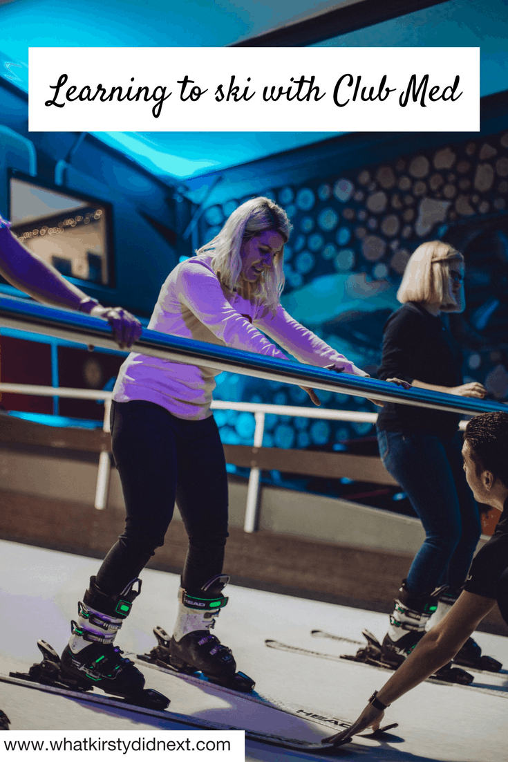 Learning to ski with Club Med UK
