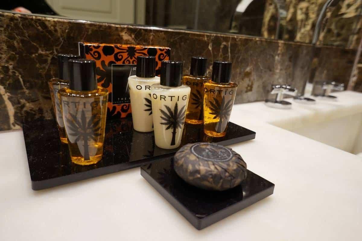 Luxury Ortiga bathroom products