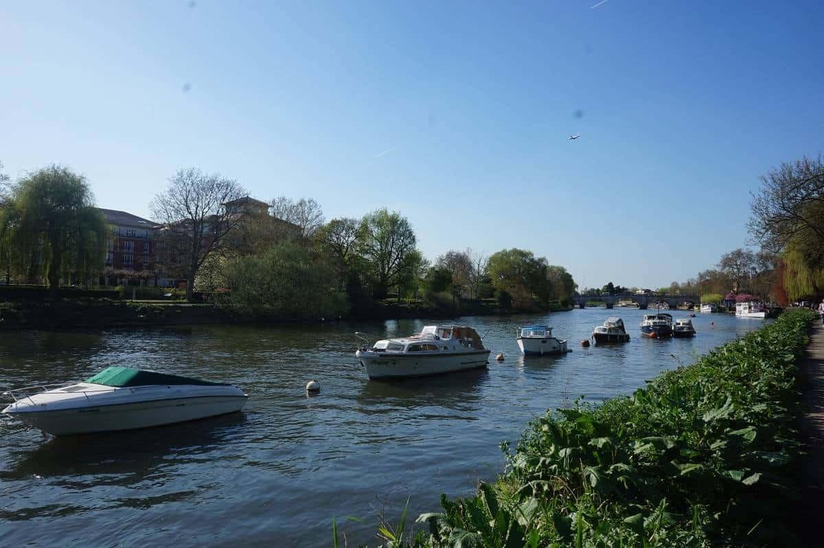 Boats in Richmond