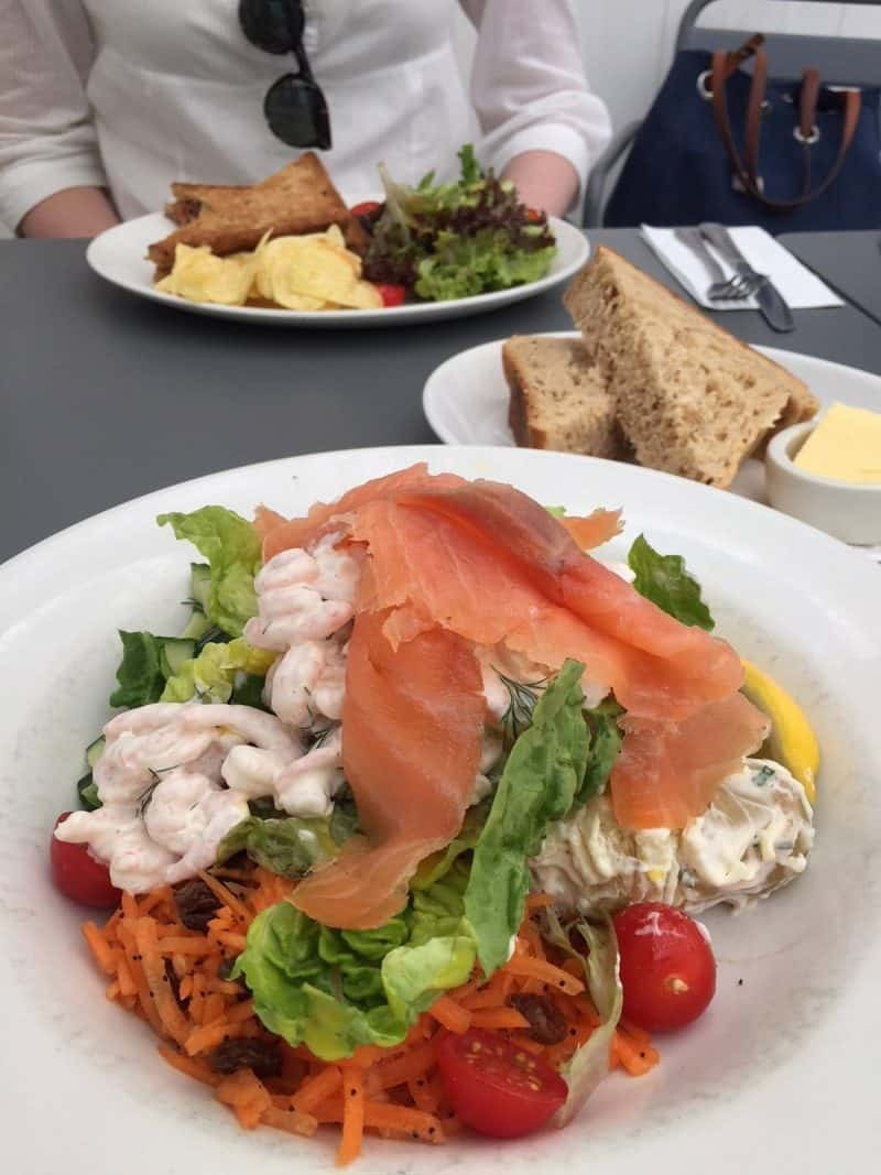 Lunch at Driftwood in Emsworth