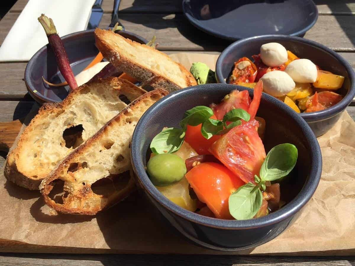 Sharing plate at The Lighterman