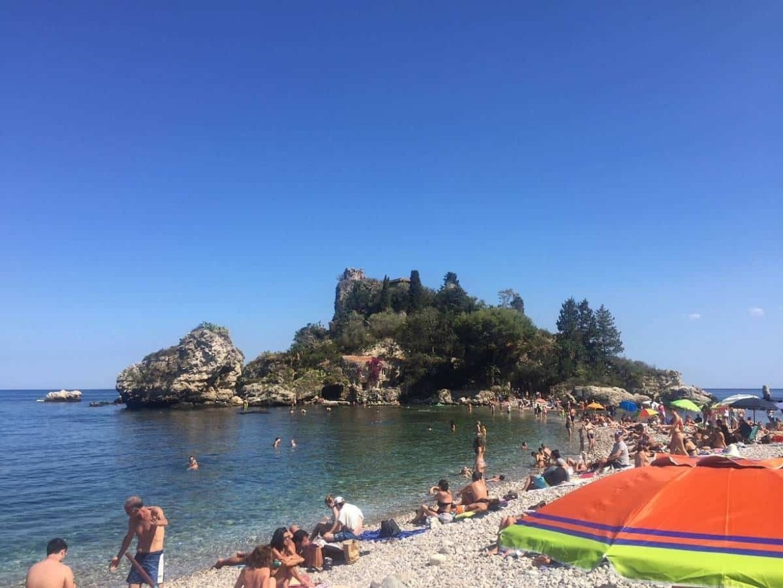 Isola Bella in Taormina Sicily