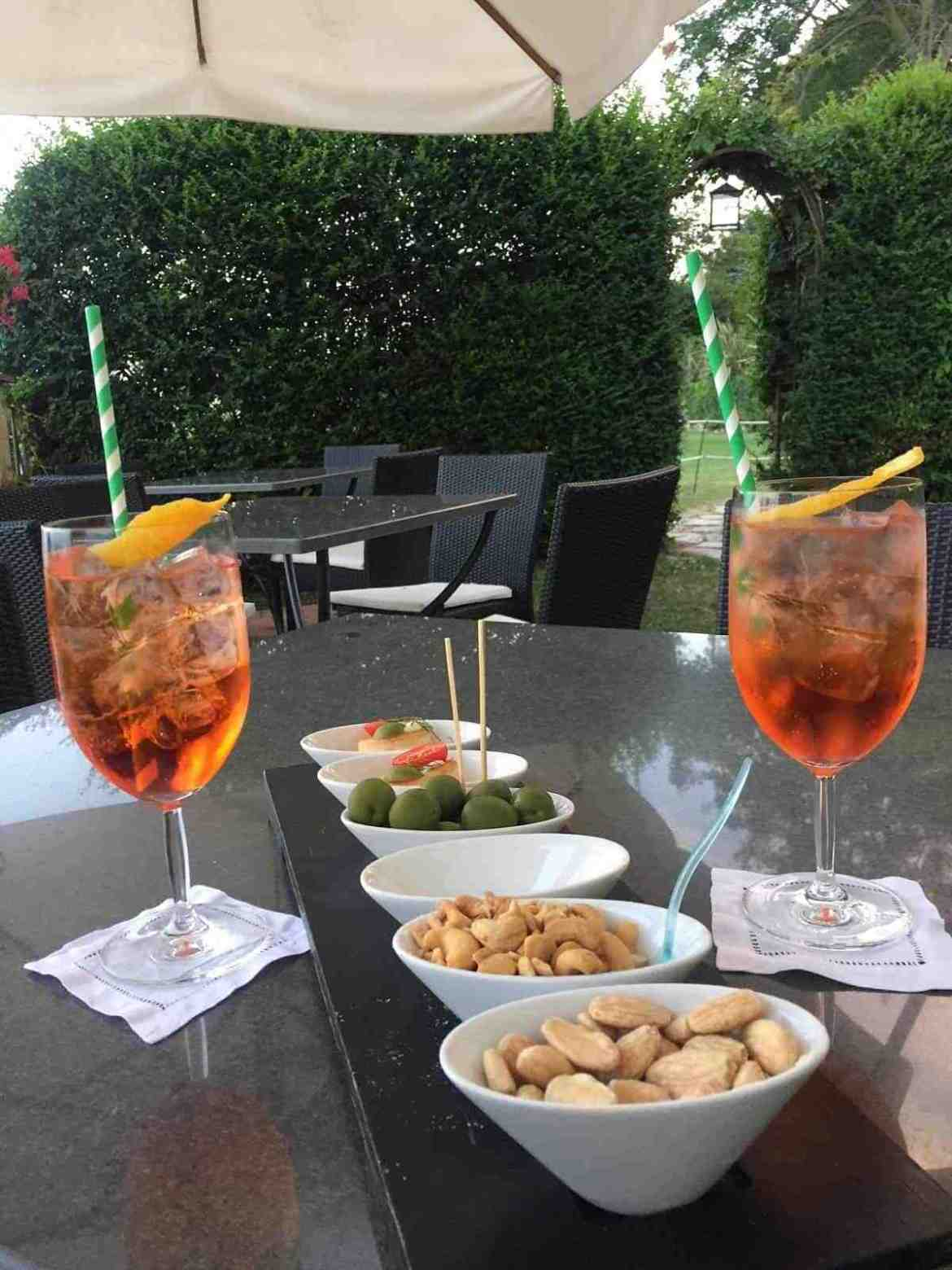 Aperitivo at Villa Cimbrone