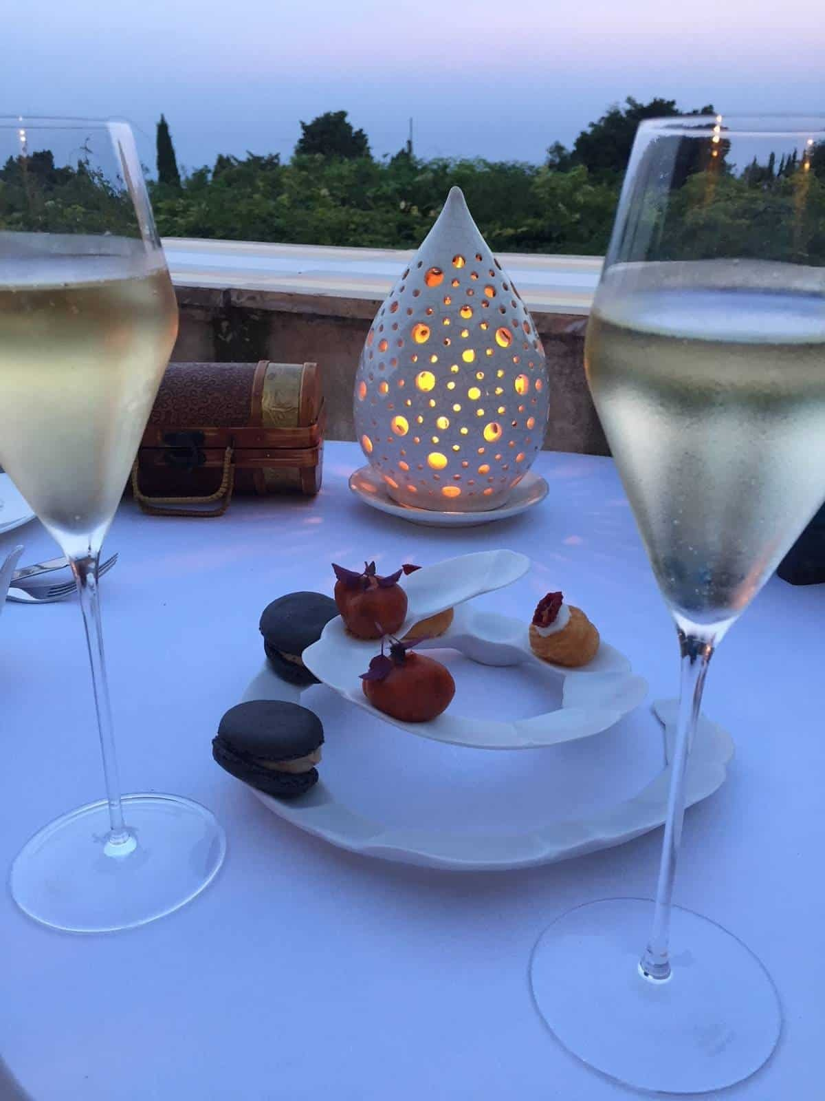 The most magical evening at Villa Cimbrone in Ravello