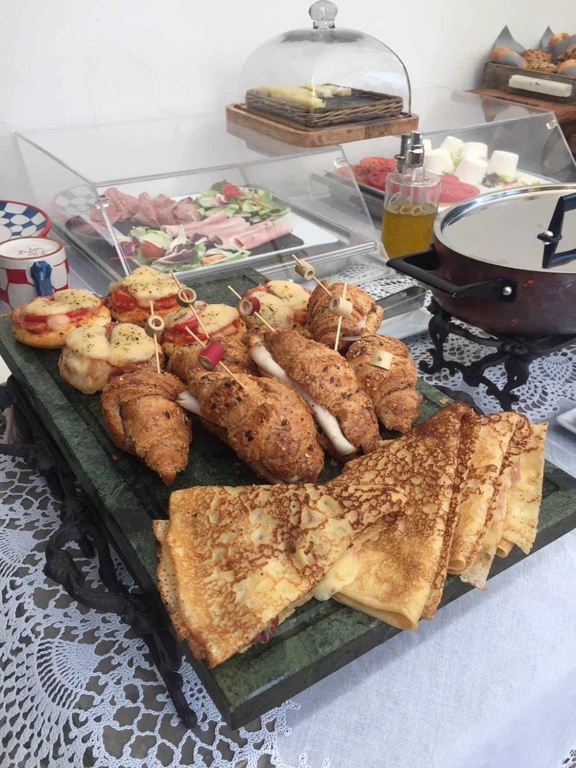 Savoury selection at Casa Buonocore