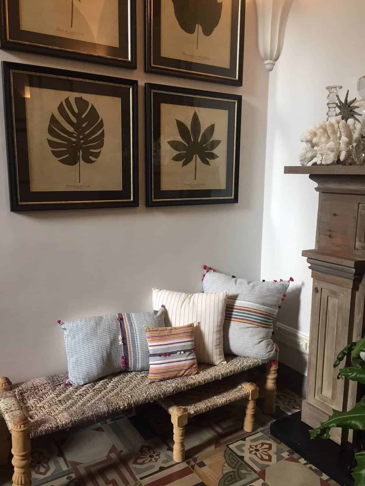 Sitting area at Casa Buonocore