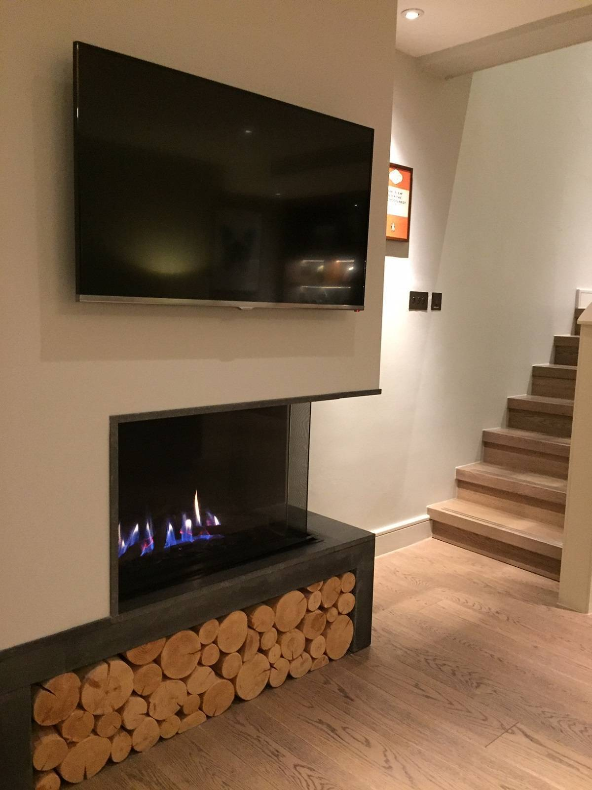 Fireplace in Snowflake Suite