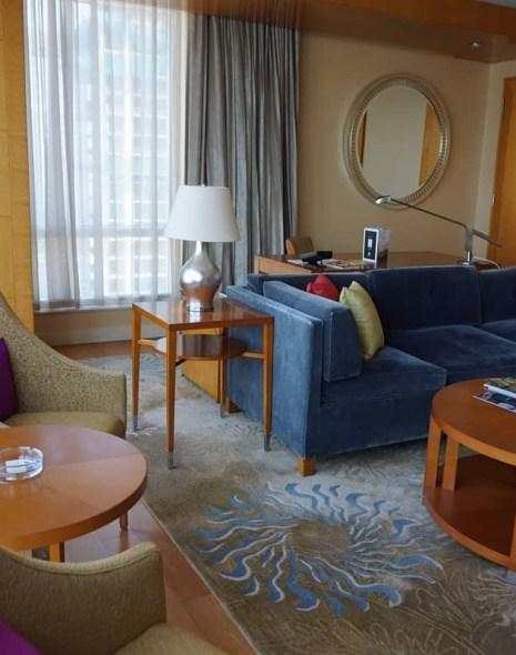 Living room Four Seasons Mumbai suite