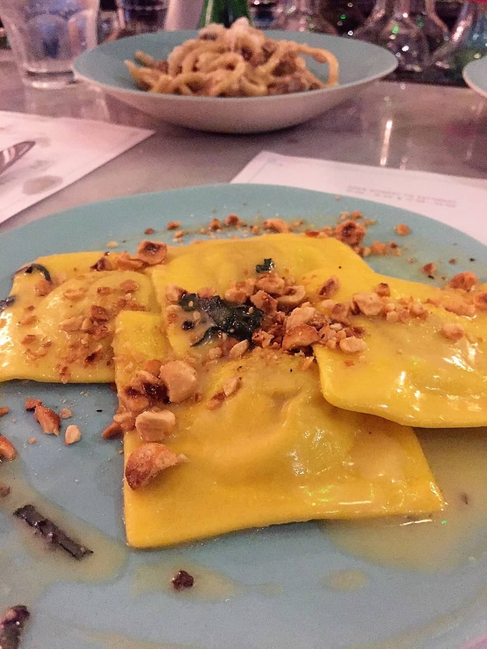 Butternut ravioli from Lina Stores