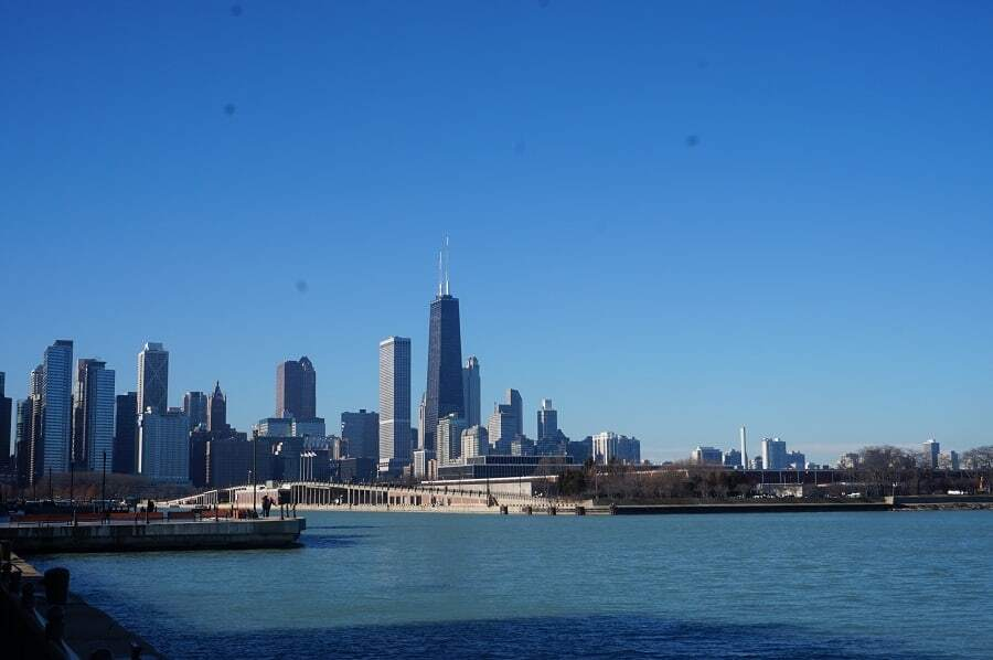 View from Navy Pier Chicago