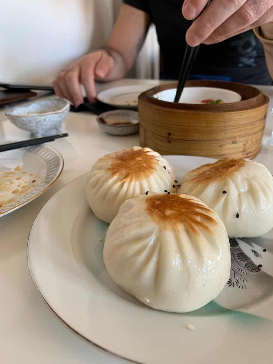 Cha Siu Bao at Hidden Dimsum