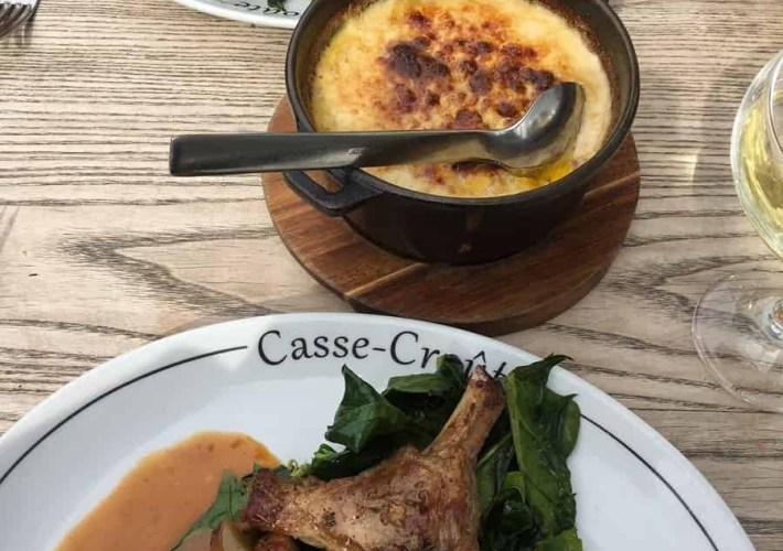 Lunch at Casse-Croûte in Bermondsey