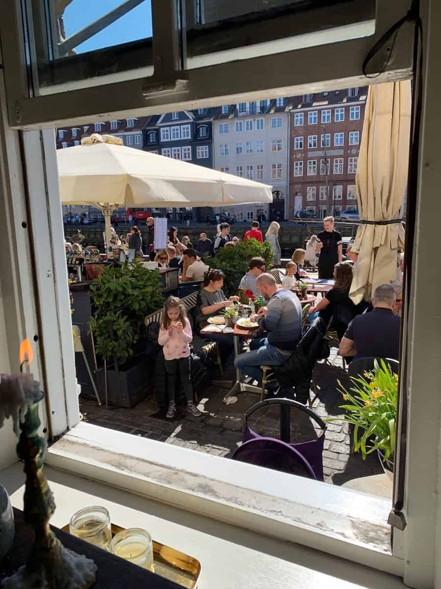 Galionen restaurant in Nyhavn
