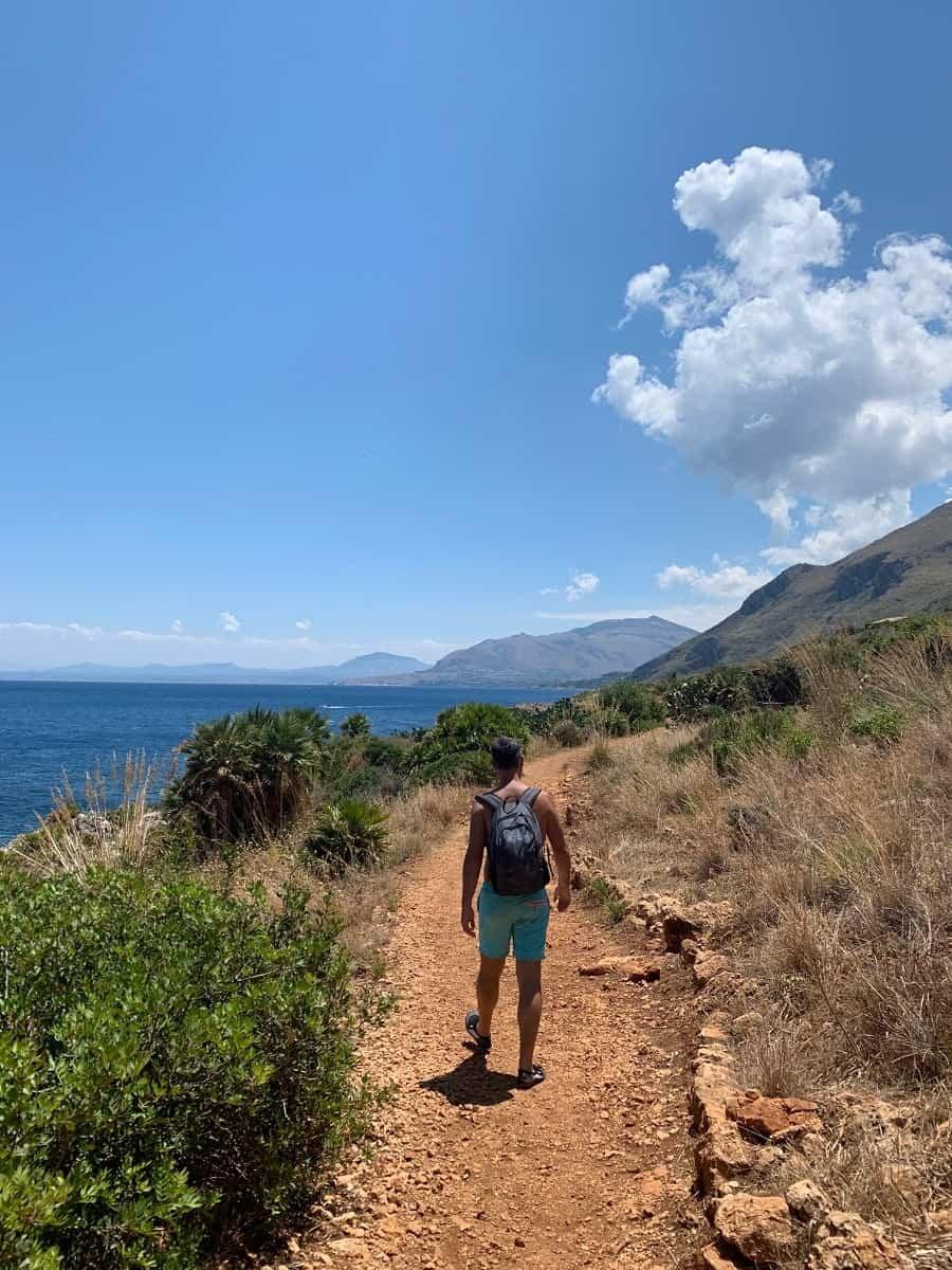 Hiking in Riserva Lo Zingaro