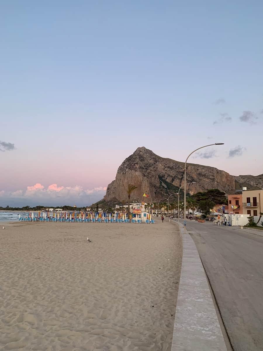 Beach at San Vito Lo Capo