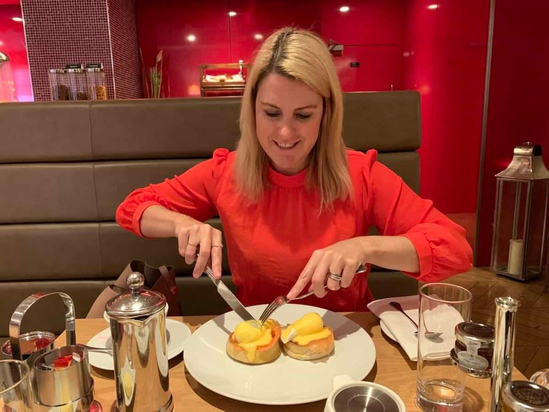 Breakfast with Kaye