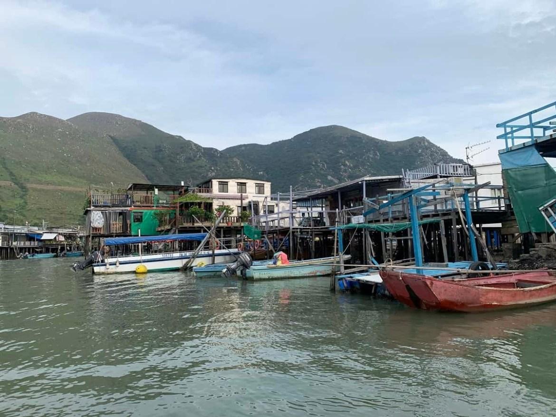 Houses in Tai O