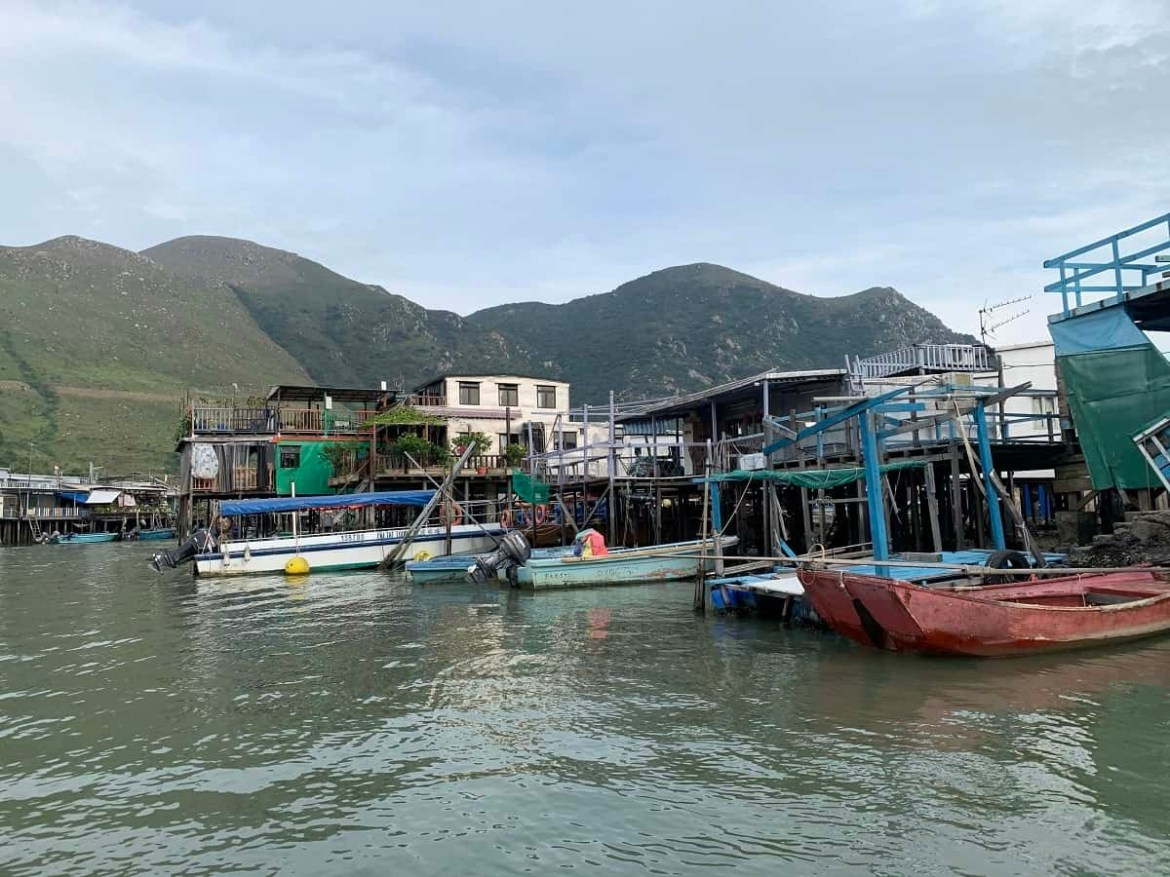 Houses in Tai O
