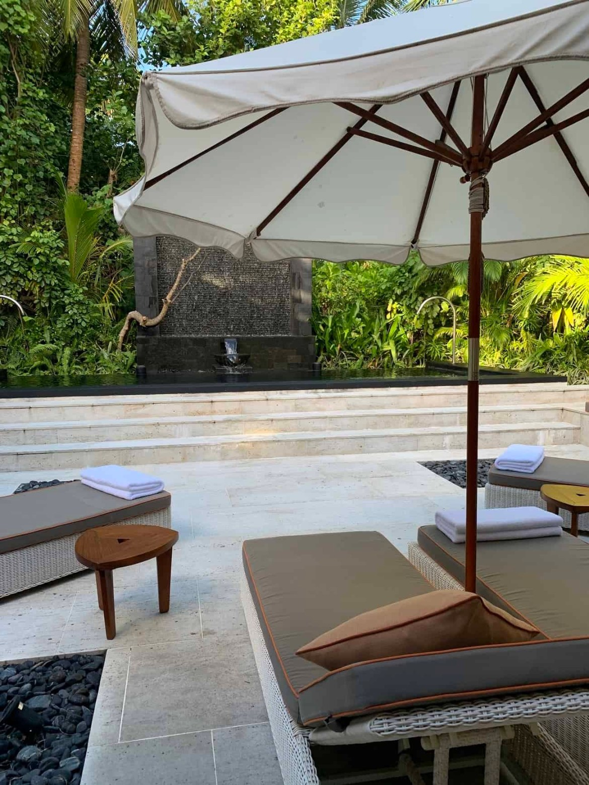The spa at Reethi Rah