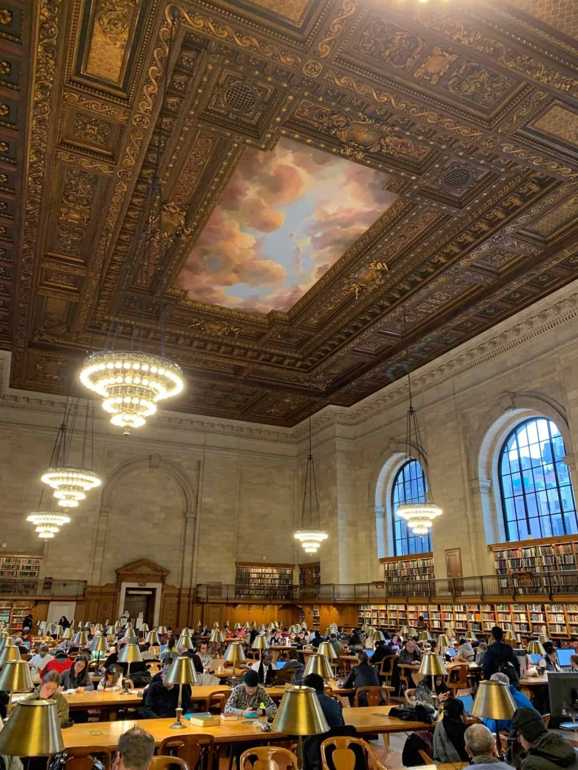 New York public library 42nd street