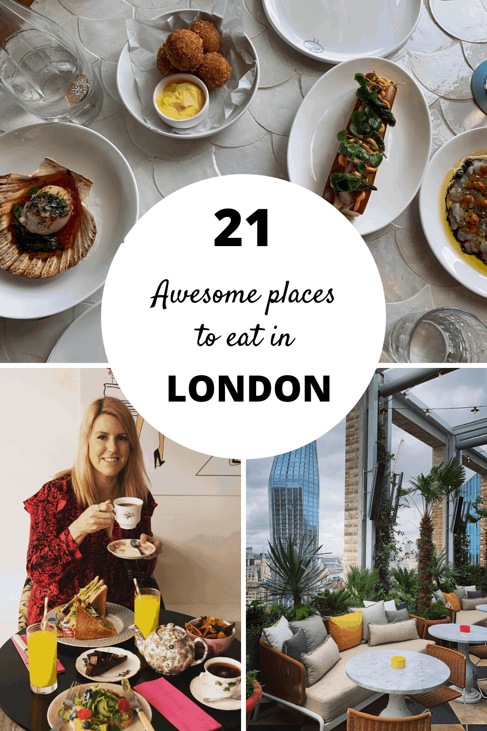 21 awesome places to eat in London