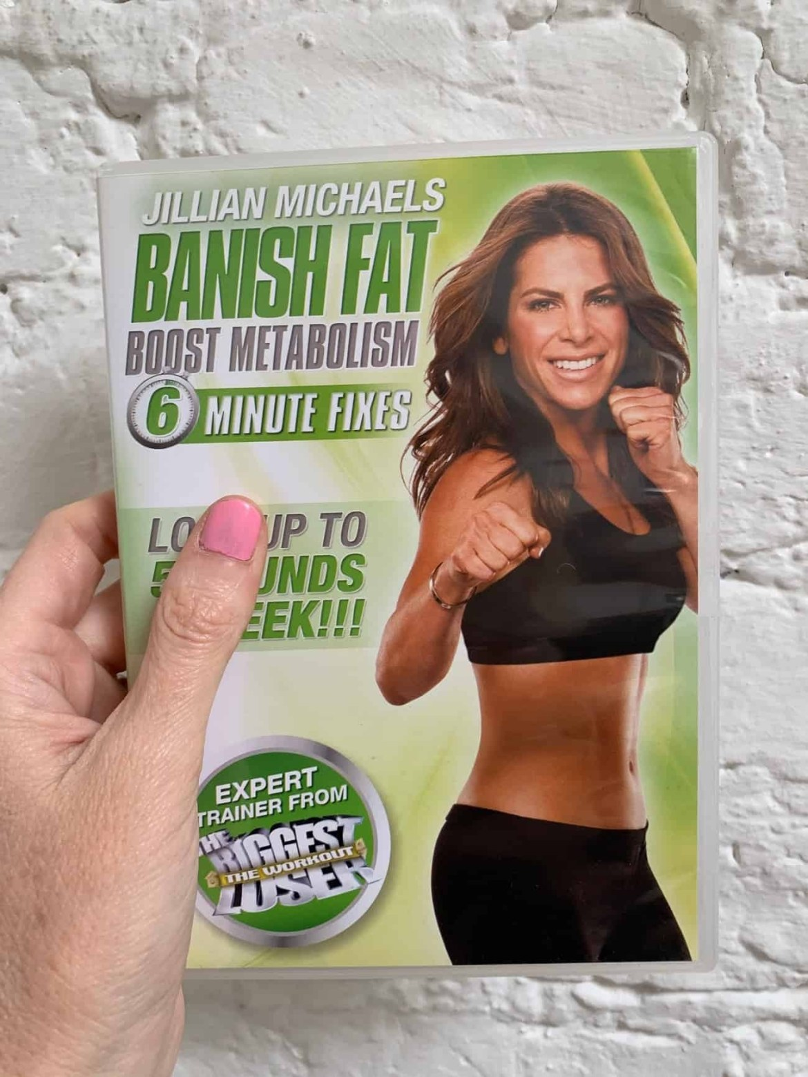 Jillian Michaels workout DVD