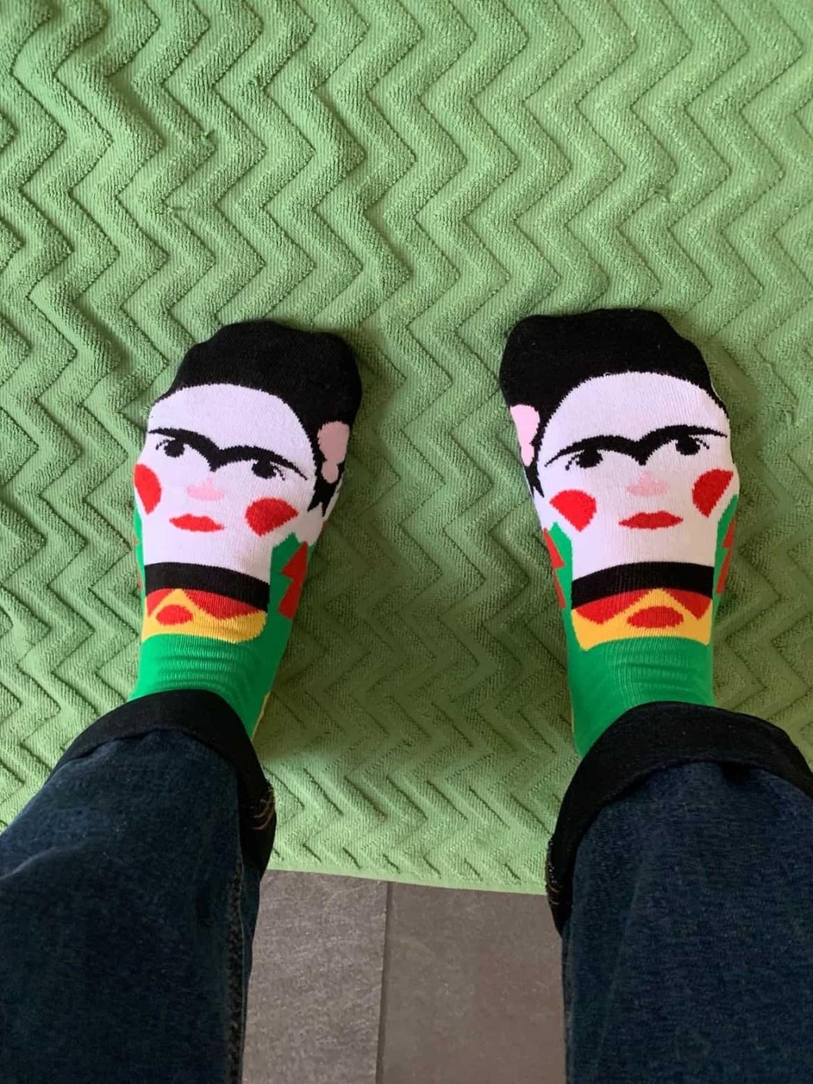 Frida Callus socks from Happy Feet