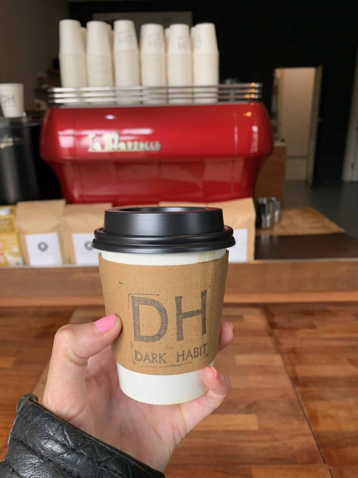 Coffee from Dark Habit