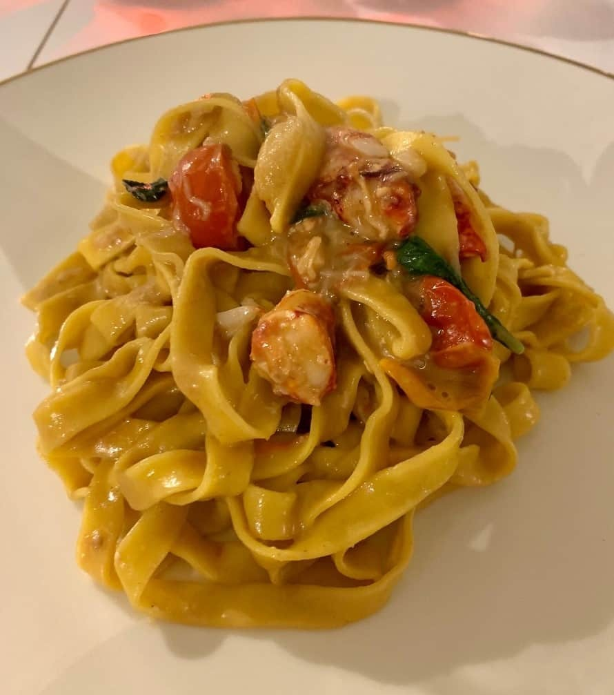 Lobster tagliatelle by Hame