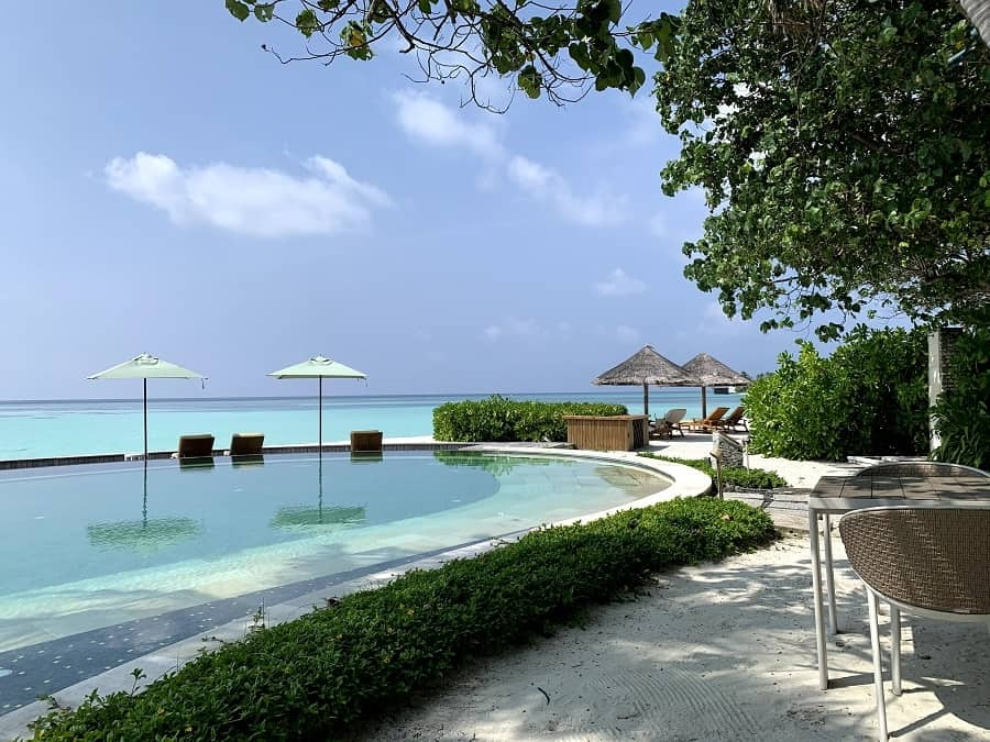 Pool by the Reef Club