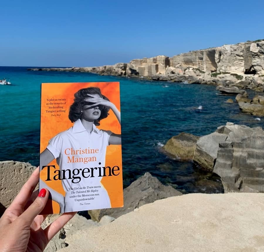 Reading Tangerine in Favignana