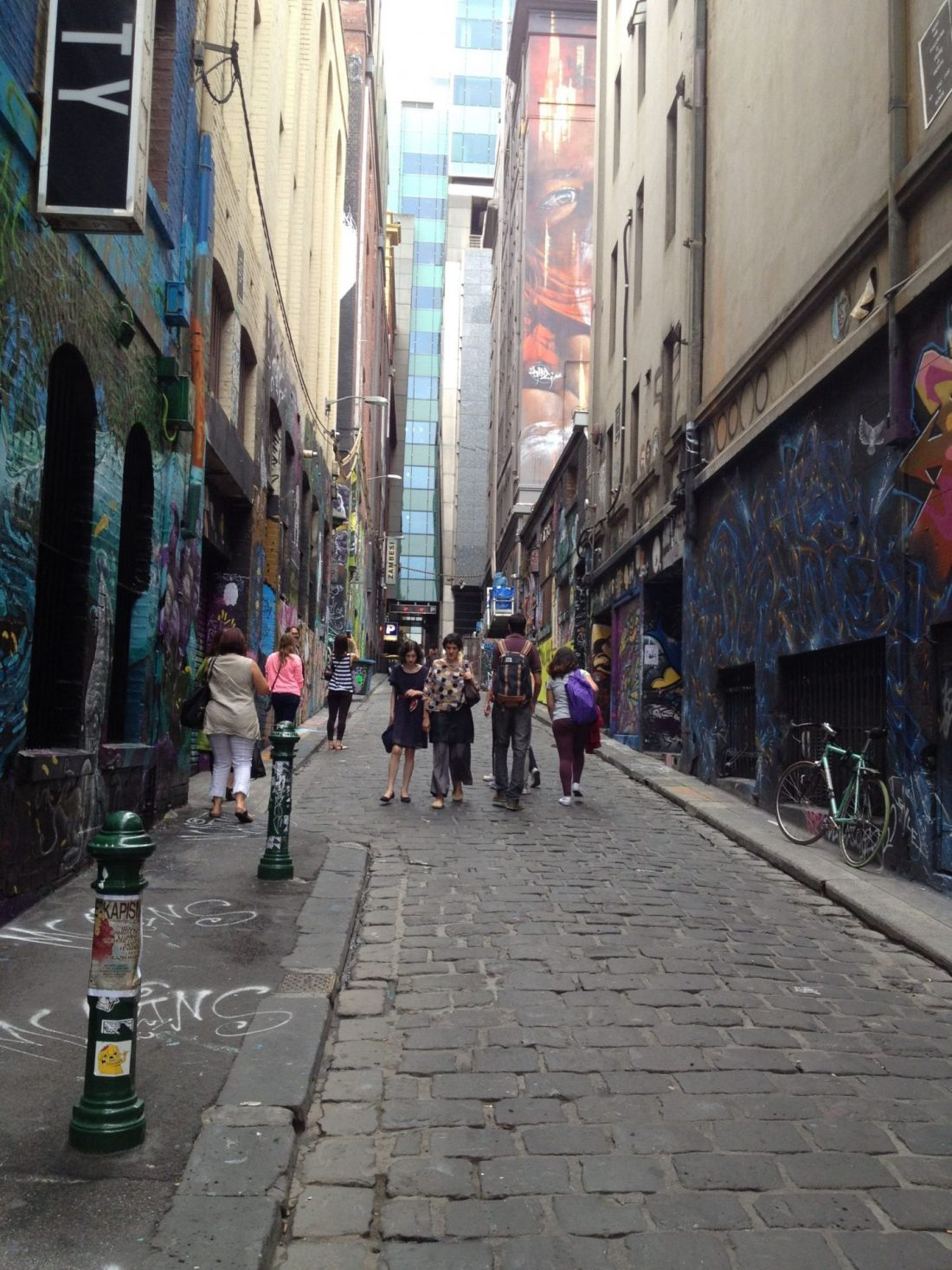 Hosier Lane street art