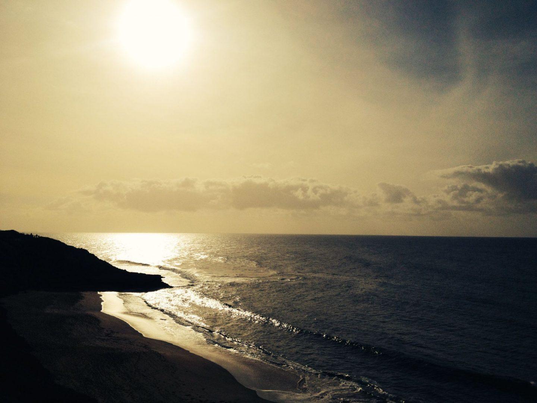 Bells Beach in the sun