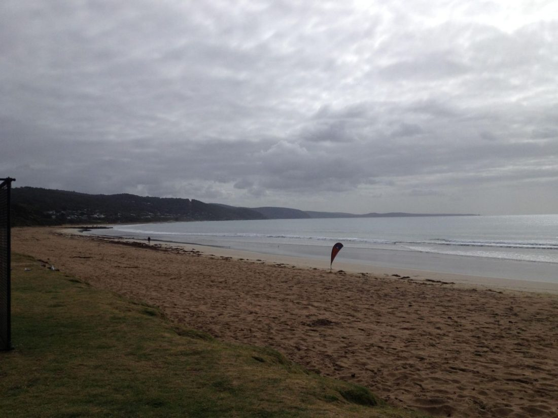 The beach at Lorne, Australia