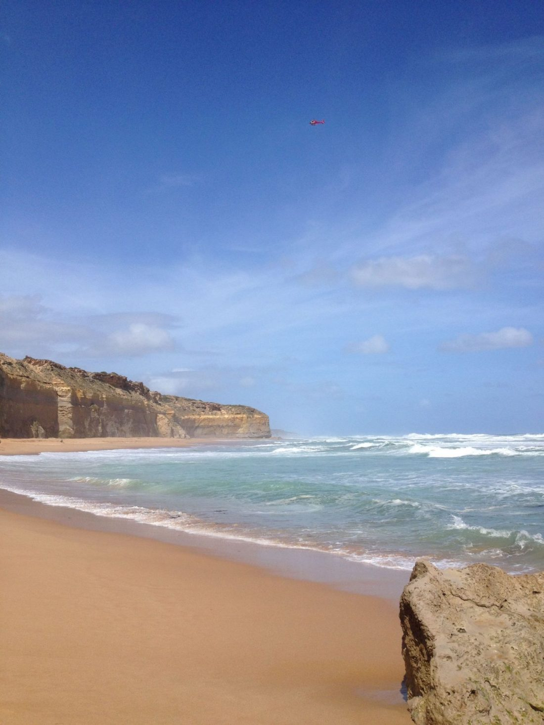 Beautiful Great Ocean Road beach