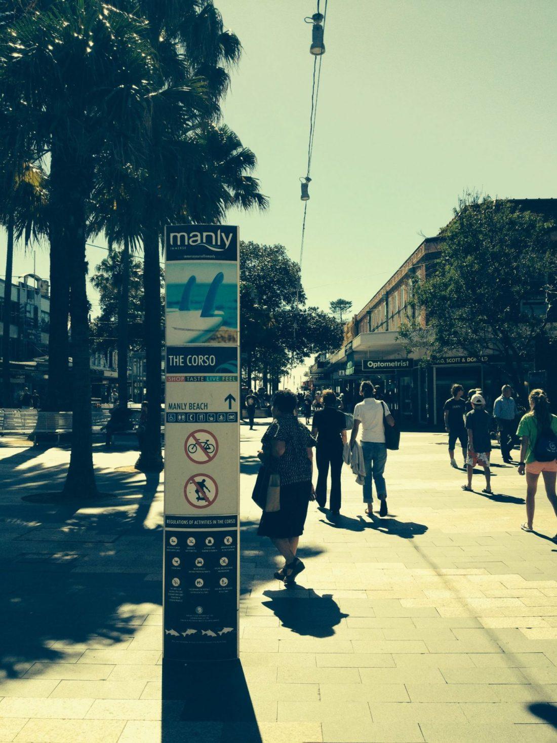 Promenade of Manly, Sydney