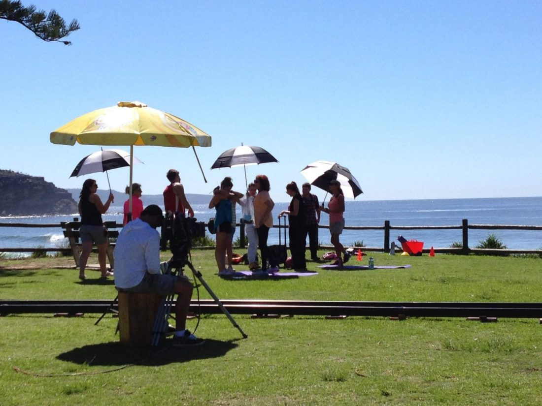 Filming Home and Away
